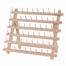 60 Spool Wooden Thread Holder
