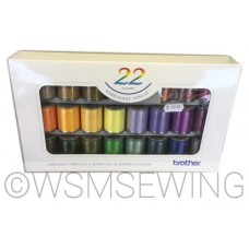Brother 22 Satin Embroidery Thread Set