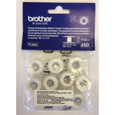 Brother Prewound Embroidery Bobbin Thread (Combination Machine)