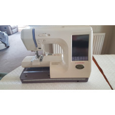 Janome Memory Craft 10000 Sewing Machine Second Hand
