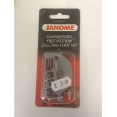 Janome Convertible Free Motion Quilting Foot Set for 1600P ONLY