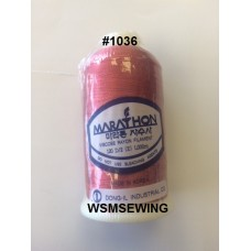 (#1036) Dark Salmon Pink Standard Embroidery Thread