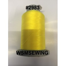 (#2983) Daffodil Yellow Fluorescent Embroidery Thread