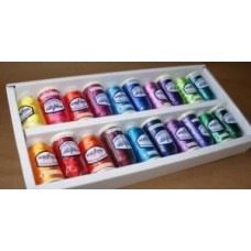 Pack of 20 Brights Embroidery Threads