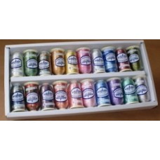 Pack of 20 Kaleidoscope Embroidery Threads