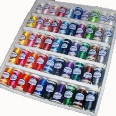 Pack of 50 Popular Embroidery Threads