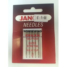 Janome Super Stretch Needles - 75/11