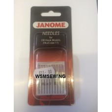 Janome Needles For DB Hook Models (Size 11)