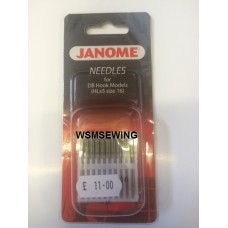 Janome Needles For DB Hook Models (Size 16)