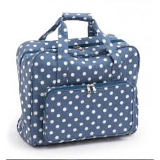 Sewing Bag Blue Polka Dot