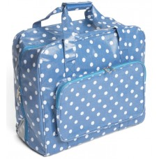 Sewing Bag Light Blue Polka Dot