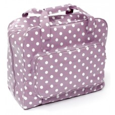 Sewing Bag Lilac Polka Dot