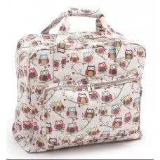 Sewing Bag Owl Print