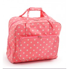 Sewing Bag Pink Polka Dot