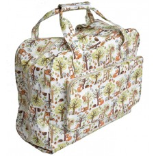 Sewing Bag Woodland Print