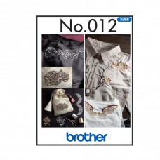 Brother Fancy Decorative Embroidery Collection BLECUSB12