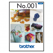 Brother 3D Combination Motifs Embroidery BLECUSB1