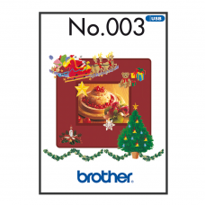 Brother Winter Collection Embroidery BLECUSB3