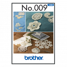 Brother Crochet Style Embroidery Collection BLECUSB9