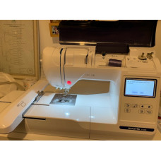 Brother innov-is F440E embroidery machine CUSTOMERS MACHINE.