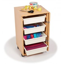 Horn Furniture Rolla Storage Sewing Cabinet