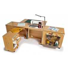 Horn Furniture Superior Sewing Cabinet