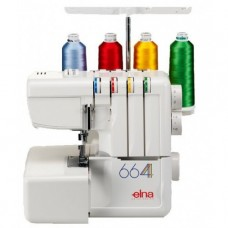 Elna 664D Pro Overlocker ex display full warranty