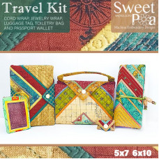 Sweet Pea Embroidery Designs CD - Travel Kit