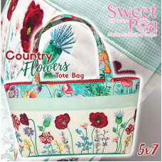 Sweet Pea Embroidery Designs CD - Country Flowers